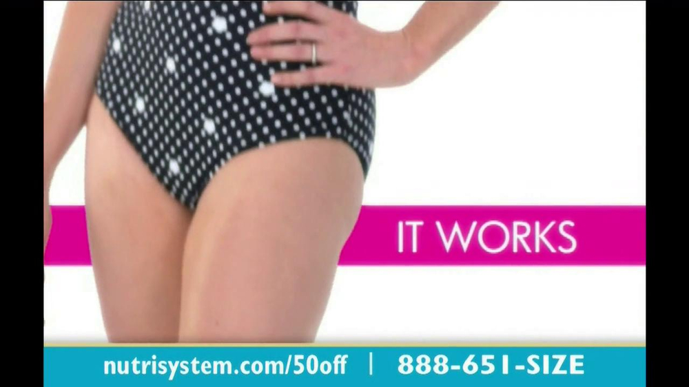 Nutrisystem TV Spot, 'Save 50%' - Screenshot 4