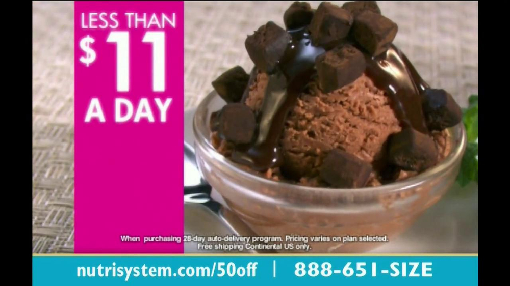Nutrisystem TV Spot, 'Save 50%' - Screenshot 7