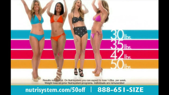Nutrisystem TV Spot, 'Save 50%' - Thumbnail 1