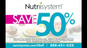 Nutrisystem TV Spot, 'Save 50%' - Thumbnail 8