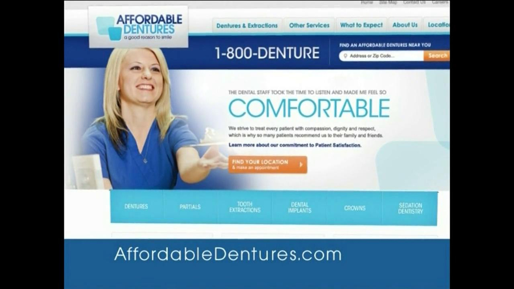 Affordable Dentures TV Spot, 'Momet' - Screenshot 7