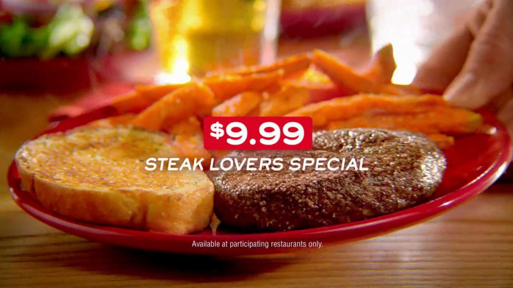 Chili's Steak Lovers Special TV Spot - Screenshot 8