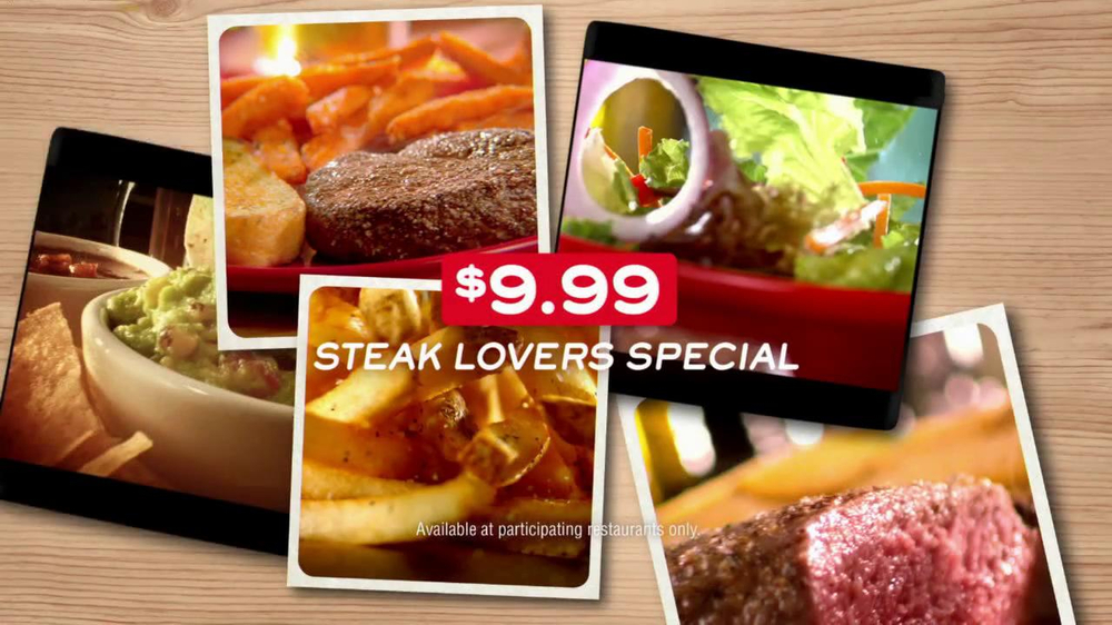 Chili's Steak Lovers Special TV Spot - Screenshot 9