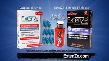 ExtenZe TV Spot, 'Being More'