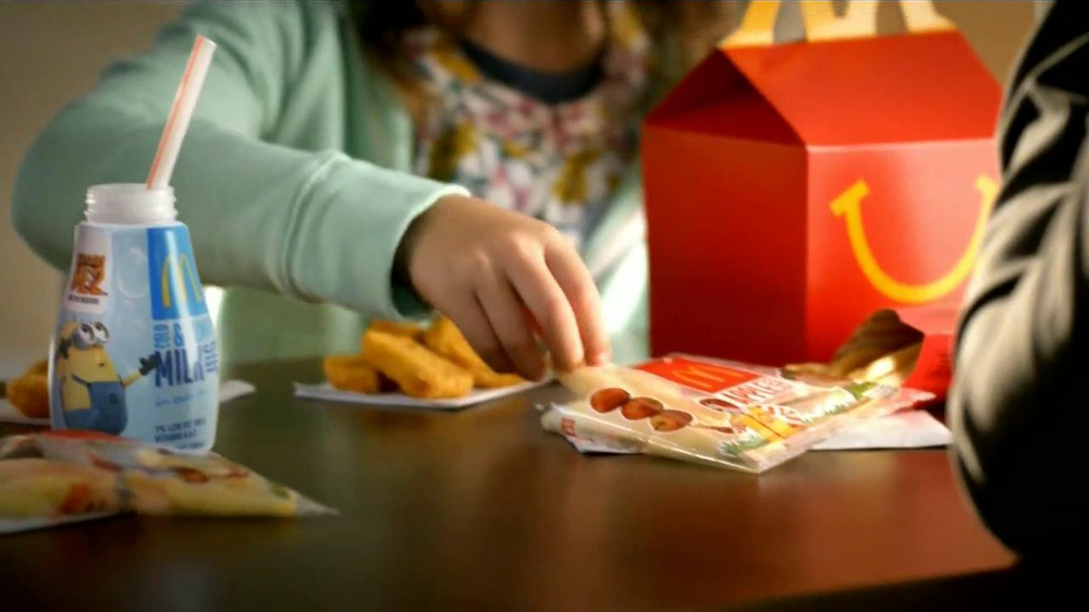 mcdonalds happy meal tv spot despicable   spanish ispottv