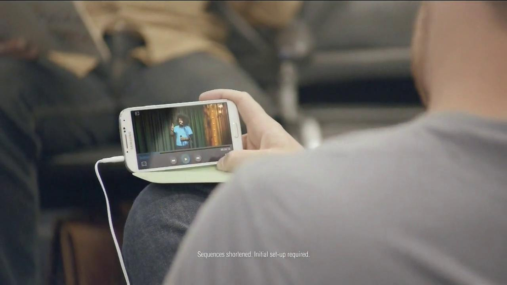 Samsung Galaxy S4 TV Spot, 'Layover' - Screenshot 5