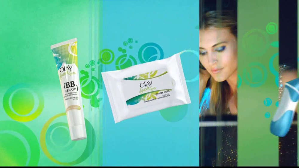 Olay Fresh Effects Skin Care TV Spot - Screenshot 2