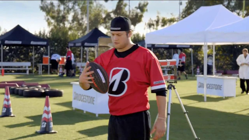 Bridgestone TV Spot Featuring Mathew Stafford, Michelle Beadle - Screenshot 8