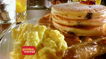 Golden Corral Weekend Breakfast TV Spot, 'Better Breakfast, Better Price'