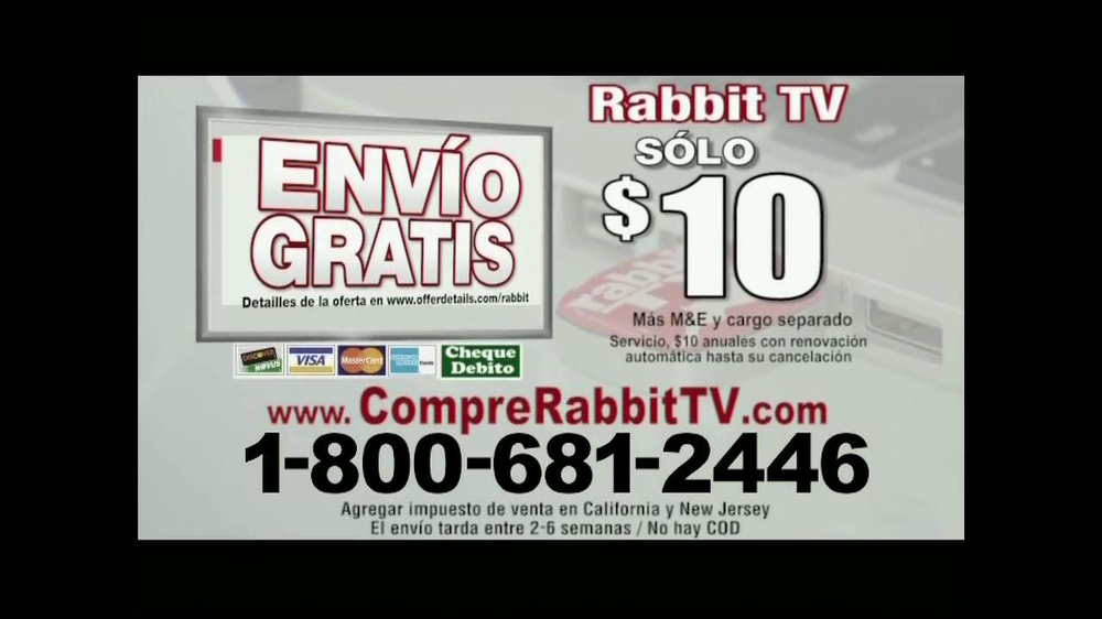 Rabbit TV Plus TV Spot, 'Más Canales' [Spanish] - Screenshot 10