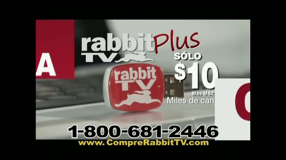 Rabbit TV Plus TV Spot, 'Más Canales' [Spanish] - Screenshot 7