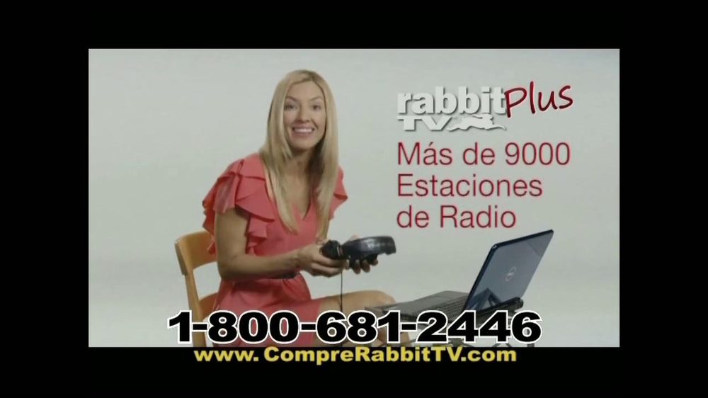 Rabbit TV Plus TV Spot, 'Más Canales' [Spanish] - Screenshot 8