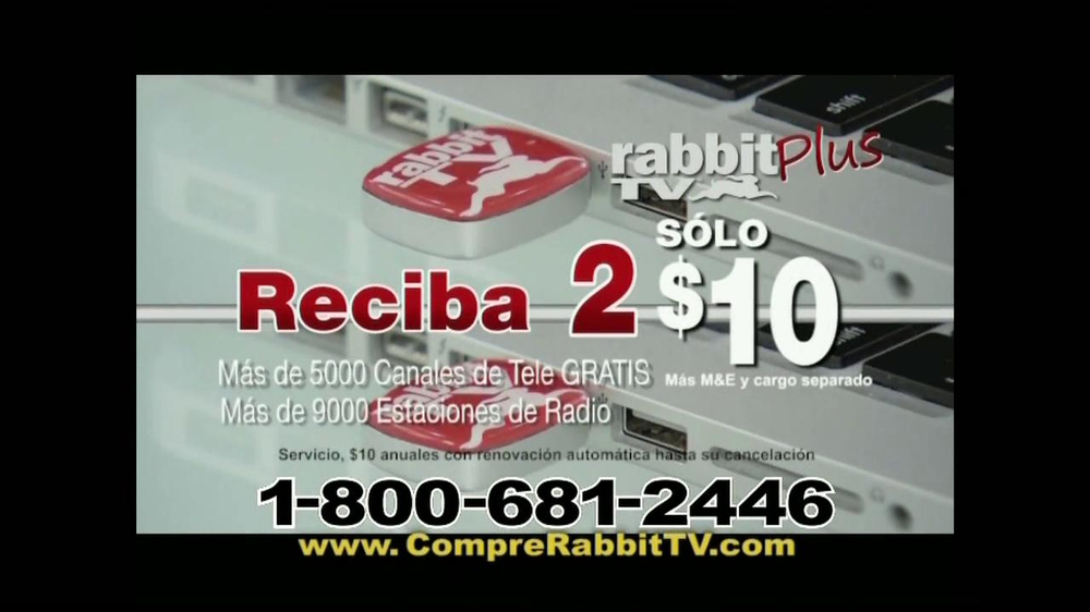 Rabbit TV Plus TV Spot, 'Más Canales' [Spanish] - Screenshot 9