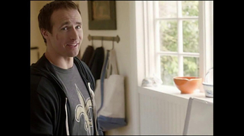 Tide TV Spot, 'Equipment Manager' Featuring Drew Brees - Thumbnail 1