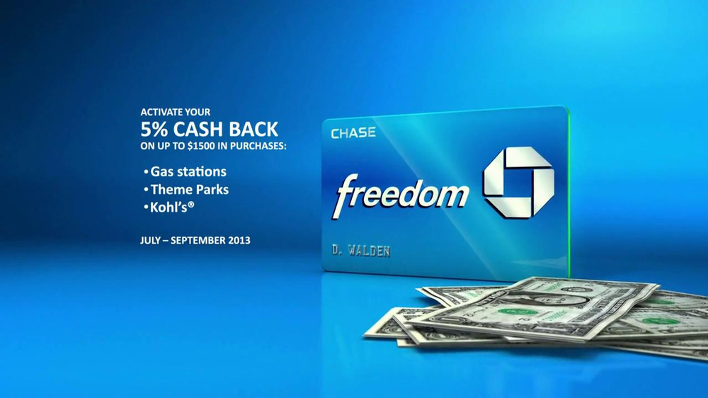 Chase Freedom TV Spot, 'Fuel More than Your Car' - Screenshot 7
