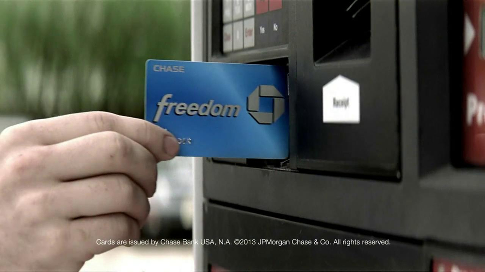 Chase Freedom TV Spot, 'Fuel More than Your Car' - Screenshot 4