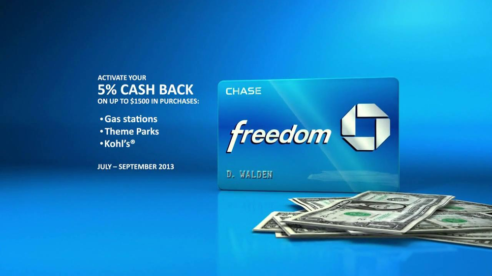 Chase Freedom TV Spot, 'Fuel More than Your Car' - Screenshot 6
