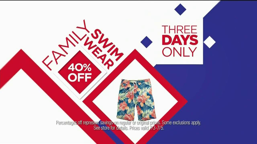 JCPenney TV Spot, 'July Savings' - Screenshot 5