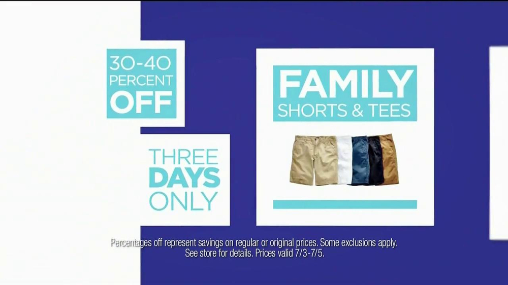 JC Penney TV Spot, 'July Savings' - Screenshot 6