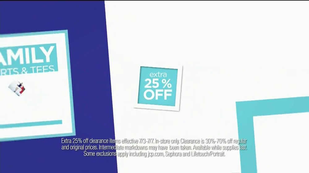 JCPenney TV Spot, 'July Savings' - Screenshot 7