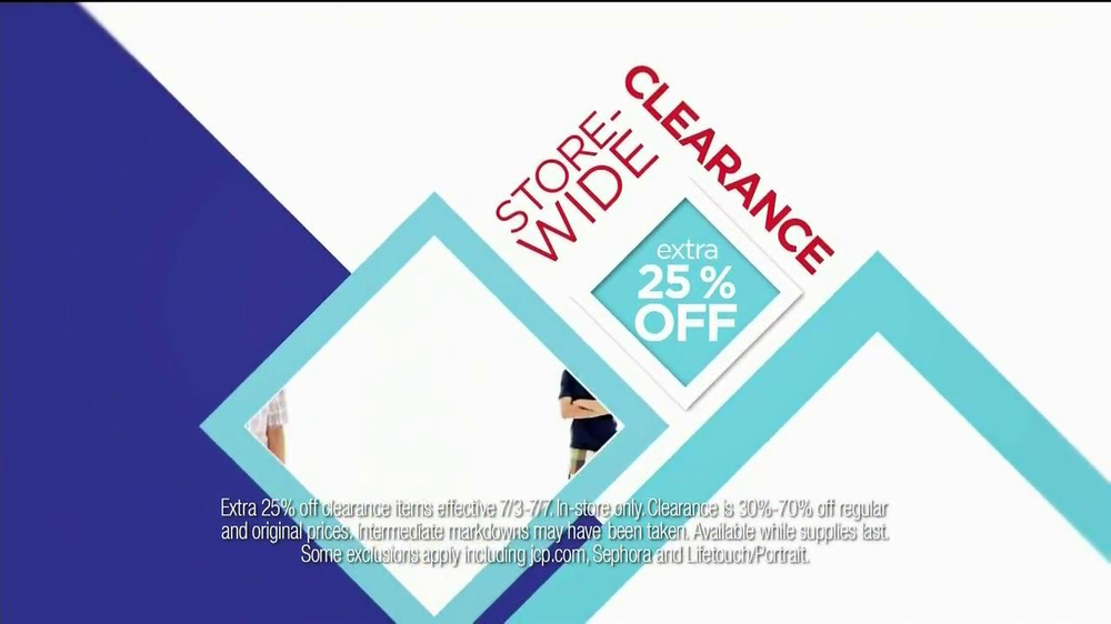JCPenney TV Spot, 'July Savings' - Screenshot 8