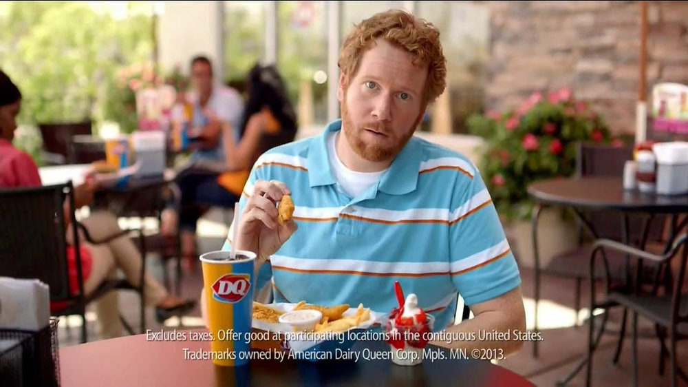 Dairy Queen TV Spot, 'Fan Foods: 5 Buck Lunch' - Screenshot 6