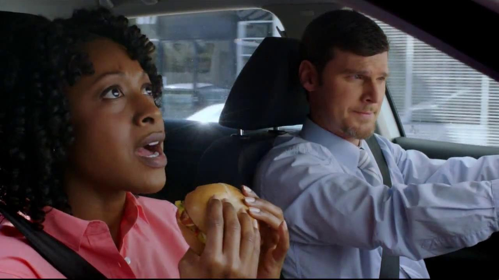 Dunkin' Donuts Hot & Spicy Sandwich TV Spot - Screenshot 1