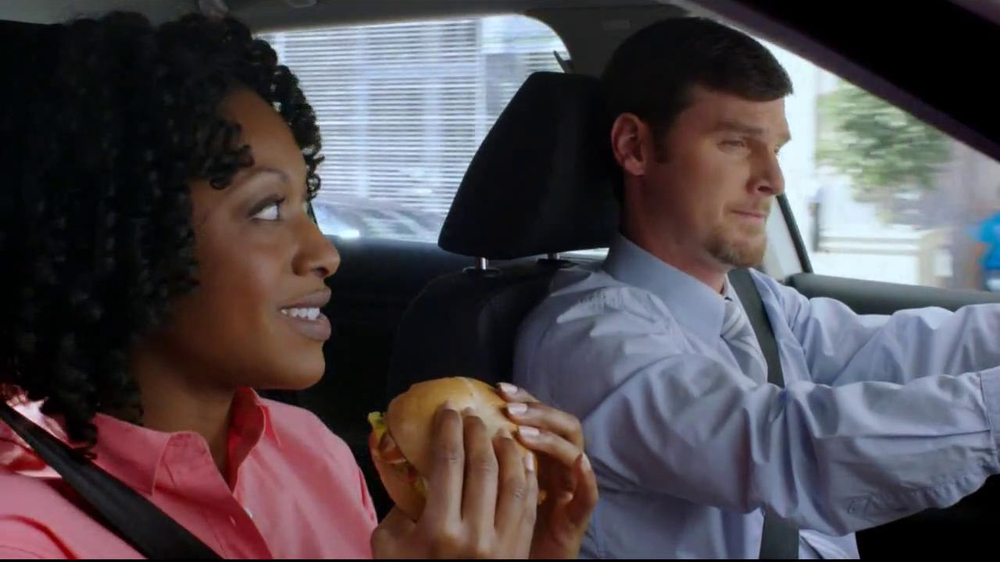 Dunkin' Donuts Hot & Spicy Sandwich TV Spot - Screenshot 2