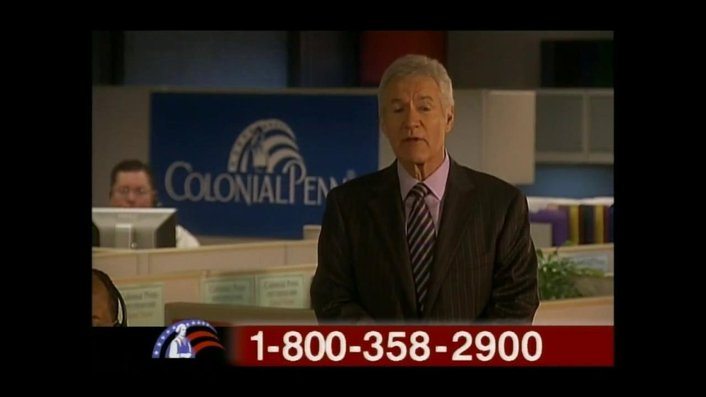 Colonial Penn TV Spot, 'Diane Tull' Featuring Alex Trebek - Screenshot 4