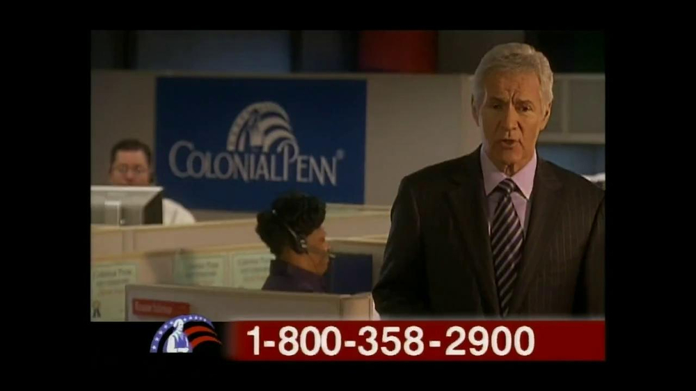 Colonial Penn TV Spot, 'Diane Tull' Featuring Alex Trebek - Screenshot 6