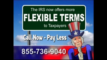 Tax Relief Line TV Spot, 'Pay Less'