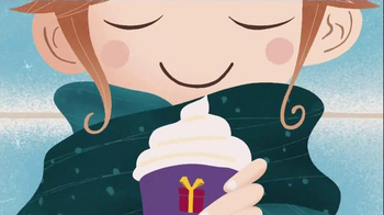 McDonald's McCafé White Chocolate TV Spot, 'Warm Up to Winter'