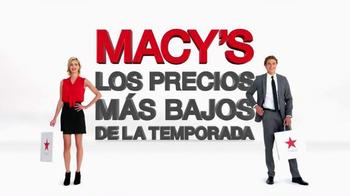 Macy's Los Precios Más Bajos De la Temporada TV Spot, 'Octubre' [Spanish]
