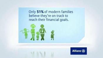 Allianz Corporation TV Spot, 'Family Financial Goals'