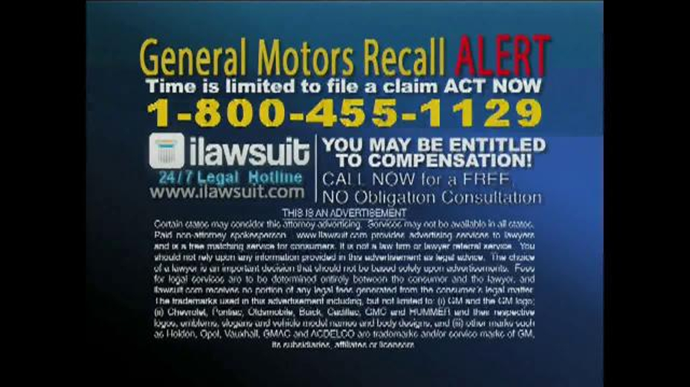 recall phone number general motors autos post