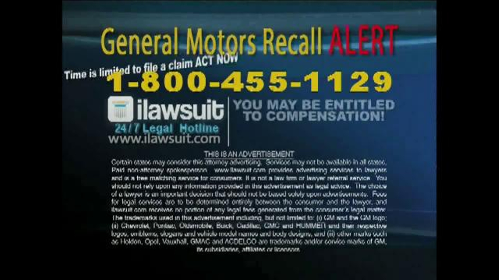 recall phone number general autos post