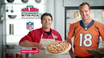 Papa John's Fritos Chili Pizza TV Spot, 'Halloween' Feat. Peyton Manning