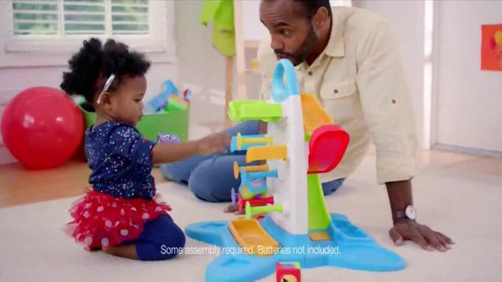 Fisher Price Roller Blocks Playwall Tv Commercial Slide