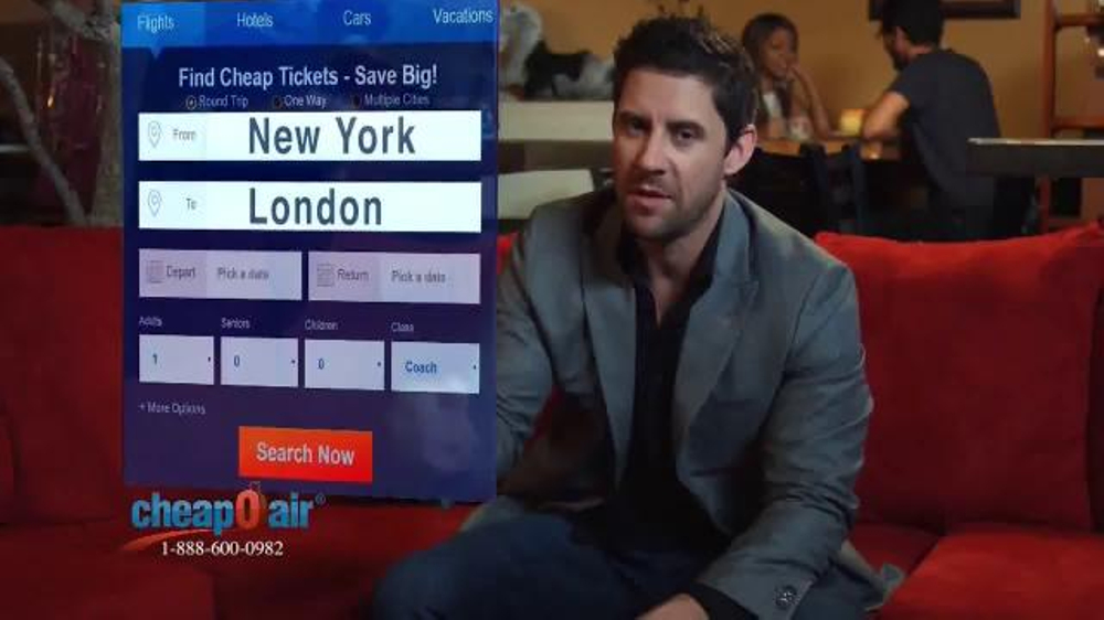 CheapOair TV Commercial, 'Mix and Match Flights' - iSpot.tv