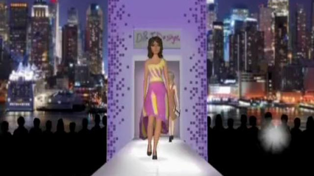 Crayola Virtual Design Pro Fashion Collection Tv Commercial