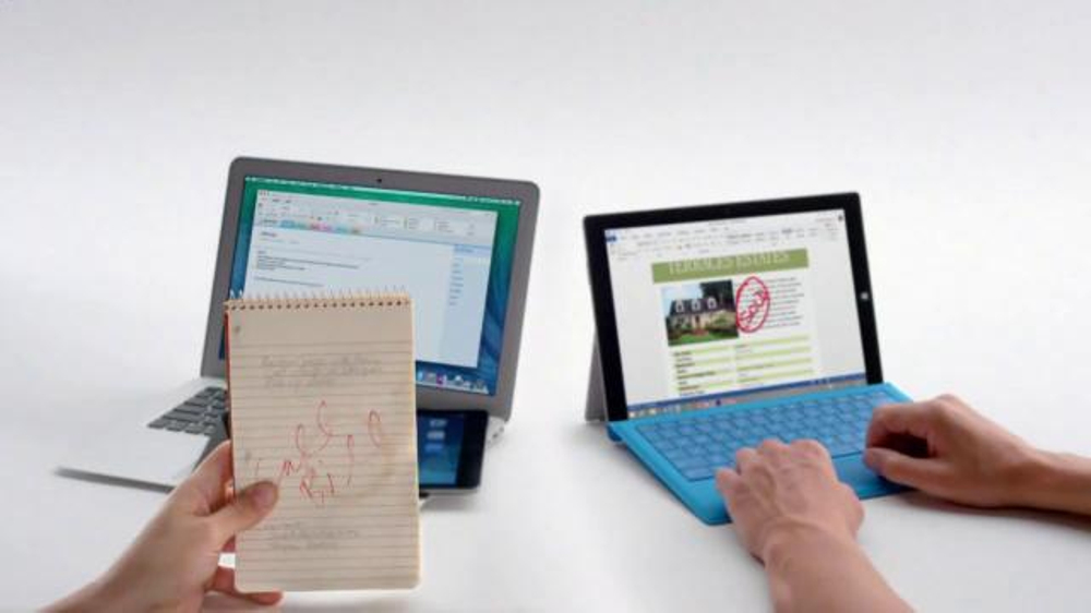 Microsoft surface pro 3 tv commercial crowded ispot tv