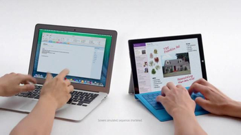 Microsoft Surface: Crowded