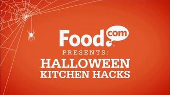 Food.com TV Spot, 'Halloween Kitchen Hacks: Ultimate Halloween Cocktails'