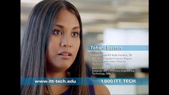 ITT Technical Institute TV Spot, 'Tehani Barton'