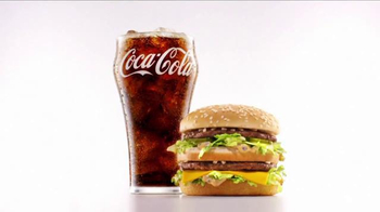 McDonald's Big Mac TV Spot, 'A Coke and a Big Mac'