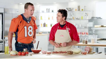 Papa John's Ultimate Meat Pizza TV Spot, 'Up Your Game' Ft. Peyton Manning