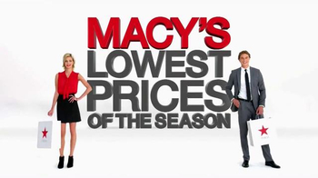 Macy's Lowest Prices of the Season TV Spot, 'October 2014'
