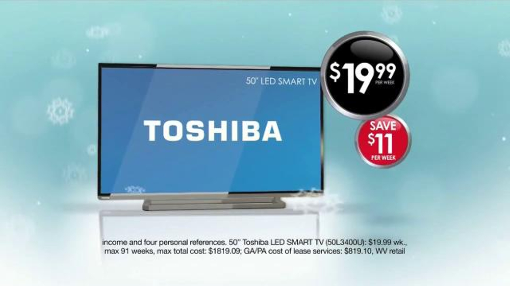 National Tv Sales Rental: Rent-A-Center Pre-Black Friday Sale TV Commercial, 'Beat