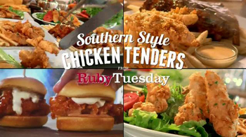 Ruby Tuesday Southern Style Chicken Tenders Tv Spot You