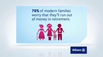 Allianz Corporation TV Spot, 'Guaranteed Income for Life'